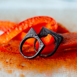 Mel-low spicy 3D printed rings
