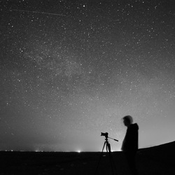 nachtfotografie black and white