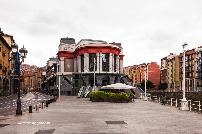 La Ribera Market in Bilbao - 20160727 3132 La Ribera Market in Bilbao