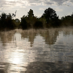 nevel op het water