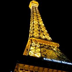 Eiffeltoren in Las vegas