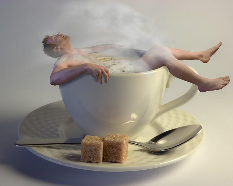 hmmmm Coffee in the morning - Niks fijner dan een kopje koffie in de ochtend...<br /> <br /> Een idee dat plotseling te binnen schoot toen ik nadach