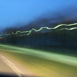 Groene straatverlichting