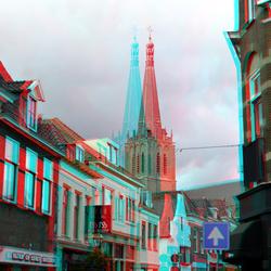 Toren Martinikerk Doesburg 3D