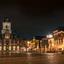 Delft Markt bij nacht