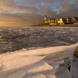 Winter in Urk