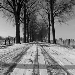 panorama zwart en wit