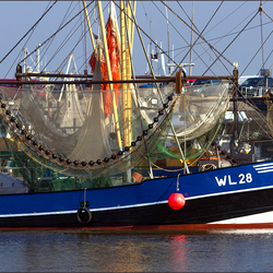 Vissersboot wl 28.