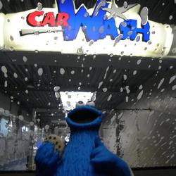 CookieM in the Carwash