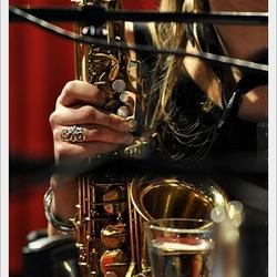 her sax