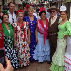 Feest in Torremolinos
