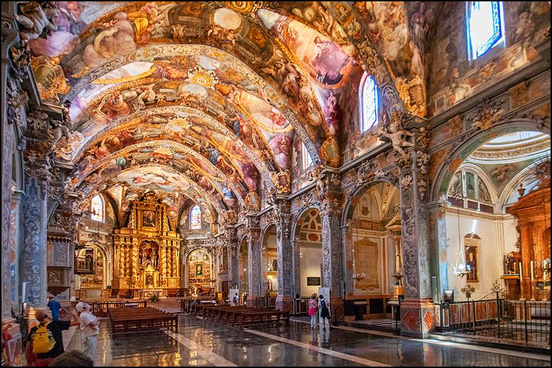 Valencian art 31 - Aangezien er nogal wat Zoomers benieuwd zijn naar de kleuren versie  van de Valenciaanse sixtijnse kapel, plaats ik bij wijze van u
