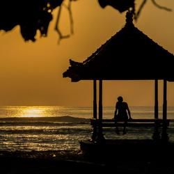 Zonopkomst op Bali