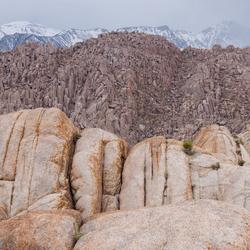 Diversiteit aan rotsformaties.