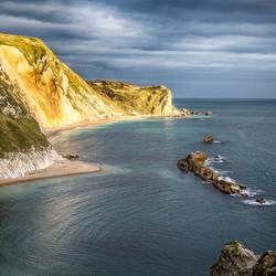 Beautiful coast England