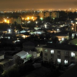 Dushanbe by night