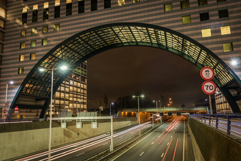 The Hague by night, Haagse Poort