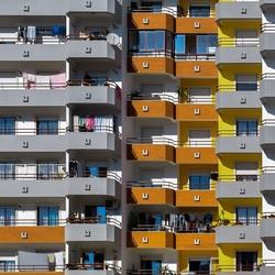 Flatgebouw in Portugal