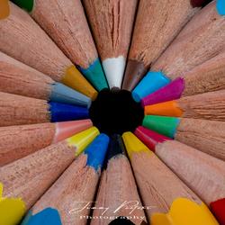 Rondje kleurpotloden