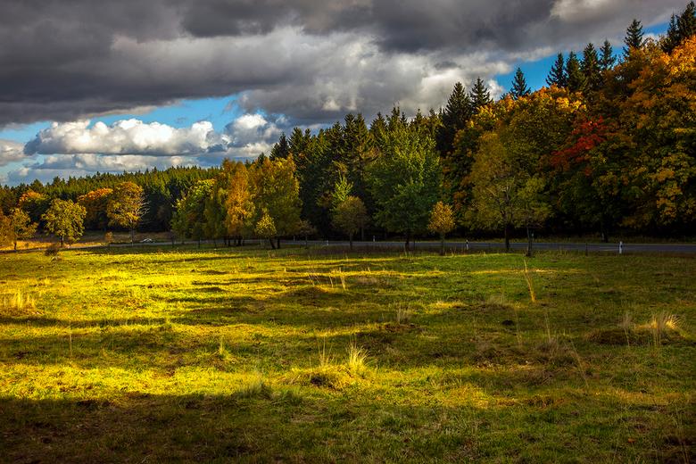 Herfst  - Herfst in de Harz (duitsland)