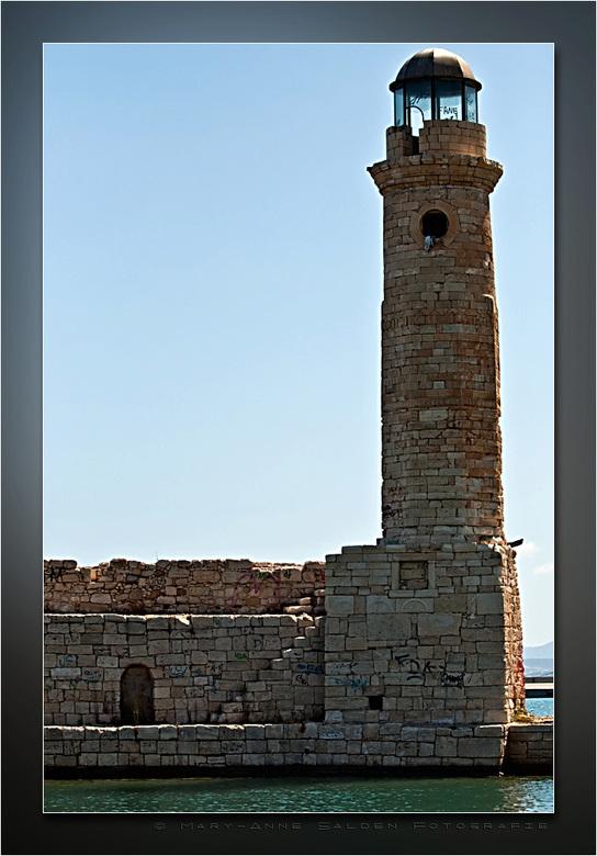 De vuurtoren in Rethymnon - Hallo allemaal,<br /> <br /> Vrijdag ben ik weer teruggekomen van een heerlijke vakantie in Griekenland...we zijn in het