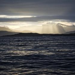 Ochtendlicht, Noord-noorse kust