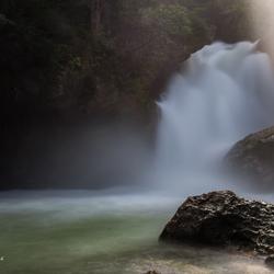 Sunbeam @ the waterfall