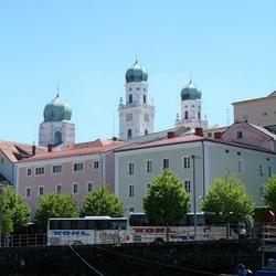 P1450543 Beierse Woud nr5  Stephansdom vanaf de Donau  19juni 2017