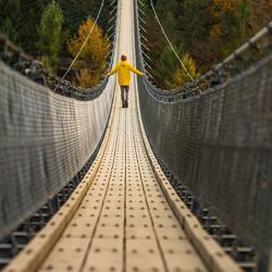 Langste hangbrug van Duitsland.
