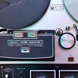 Bandrecorder Akai 210D 3D