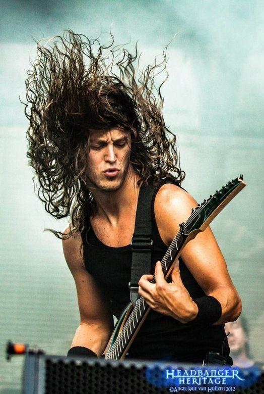 Flying Hair - Epica op Metalcamp 2012