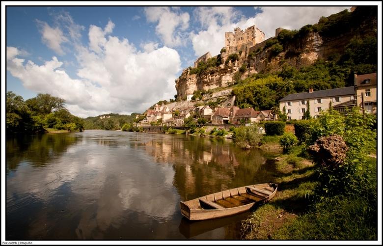 Beynac, Dordogne - Foto van de Dordogne bij het plaatsje Beynac