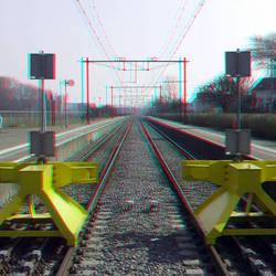 NS-station Hoek van Holland Strand 3D