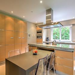 Vastgoedfotografie van een keuken