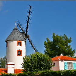 Le moulin, Saint Jean de Monts