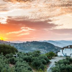 Heuvels van Andalusie, Spanje