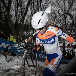 Sanne Van Paassen @UCI CX Hoogerheide 2013