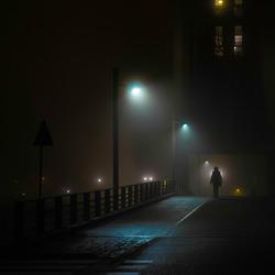 Mist in Woerden