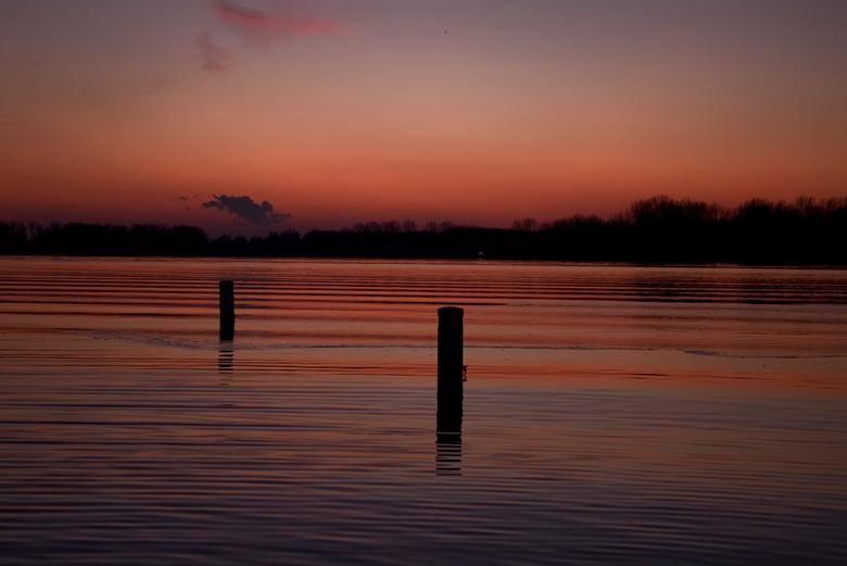 Leiden Sunset - Leiden, langs de A4