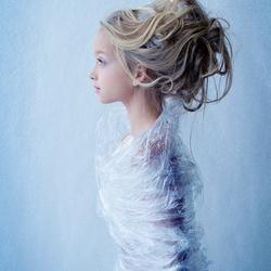 Plastic ice princess