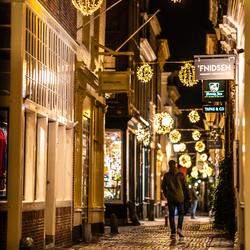 Zaterdagavond in Alkmaar tijdens de Corona periode