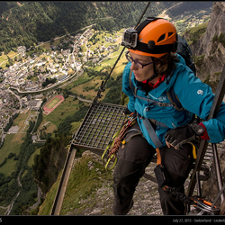 Zwitserland, Leukerbad - Daubenhorn Klettersteig