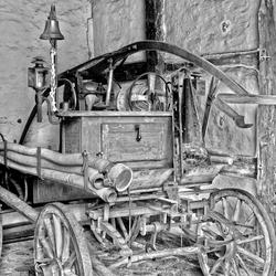 old firecar