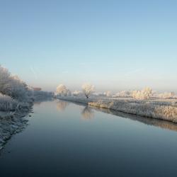 Het valley kanaal in Leusden