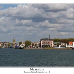 Panorama van Maassluis