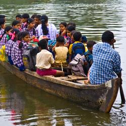 De schoolboot