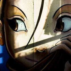 Graffiti-meisje