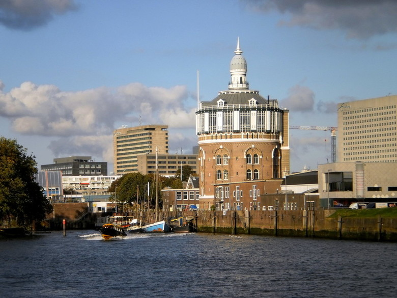 Watertoren in Rotterdam -