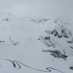 Grossglocknerstrasse winterpanorama