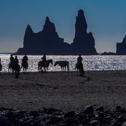 Vik black sand beach 1